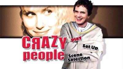 ภาพยนตร์โรแมนติก/คอมเมดี้ เรื่อง CRAZY PEOPLE (1990)